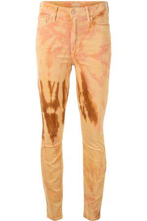 Mother Tie-dye skinny jeans