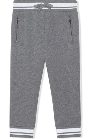 Dolce & Gabbana Stripe-trim track pants - Grey