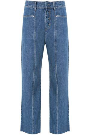 AMAPÔ Botonê denim trousers