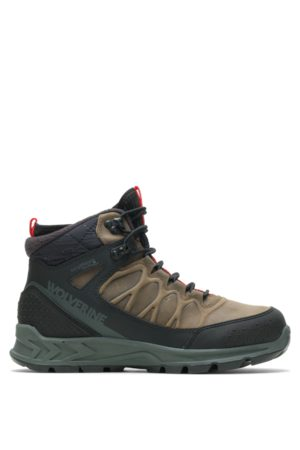Wolverine ShiftPlus Polar Range Winter Boot Gravel, Size 8.5 Extra Wide Width