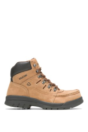 """Wolverine Men's Potomac English Moc Steel-Toe 6"""" Work Boot , Size 7 Extra Wide Width"""