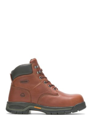 """Wolverine Men's Harrison Lace-Up 6"""" Work Boot , Size 9 Extra Wide Width"""