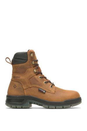 """Wolverine Men's Ramparts CARBONMAX 8"""" Boot Tan, Size 7 Extra Wide Width"""