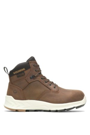 """Wolverine Men's ShiftPLUS Work LX 6"""" Alloy-Toe Boot , Size 7.5 Extra Wide Width"""