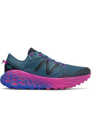 New Balance Women's Fresh Foam More Trail v1 - Blue/Pink (WTMORBP)