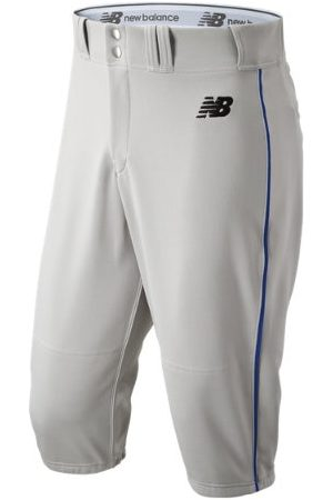 New Balance Men's Adversary 2 Baseball Piped Knicker Athletic - Grey/Blue (BMP240GRR)