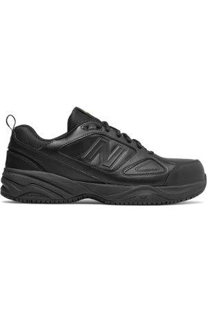 New Balance Men's Steel Toe 627v2 Leather - Black (MID627B2)