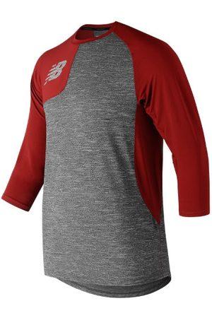 New Balance Men's Asym 2.0 Right 3/4 Sleeve - Red (MT83704RREP)