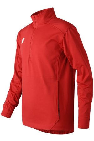 New Balance Kids' Jr Solid Half Zip - Red (TMYT710TRE)