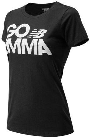 New Balance Women's GO EMMA Tee - Black (WT80301PBKH)