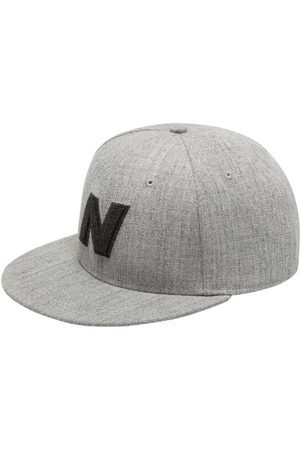 New Balance Unisex Exploded Logo Hat - Grey (LAH93001AG)