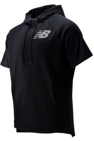 New Balance Men's BP Fleece Hoodie - Black (MT93714BK)