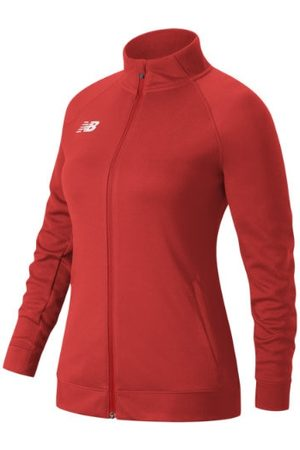 New Balance Women's Knit Training Jacket - Red (TMWJ720TRE)