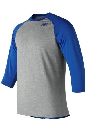 New Balance Kids' Youth 3 Qtr Raglan - Blue (TMYT601TRY)