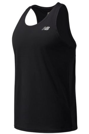 New Balance Men's Accelerate Singlet - Black (MT03201BK)