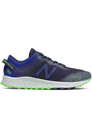 New Balance Men's Fresh Foam Arishi Trail - Grey/Blue (MTARISY1)