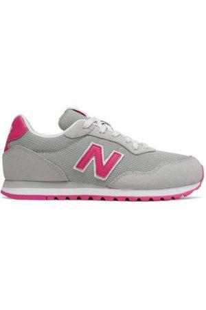 New Balance Kids' 527 - Grey/Pink (GC527LGP)