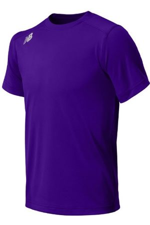 New Balance Girls Sports T-shirts - Kids' Jr NB SS Tech Tee