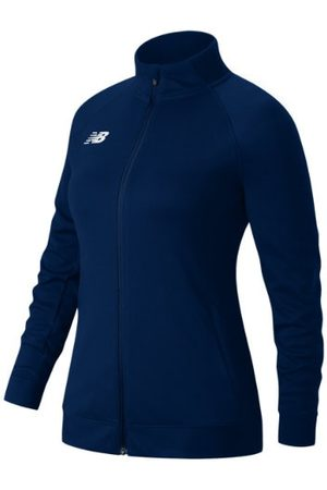 New Balance Women's Knit Training Jacket - Navy (TMWJ720TNV)
