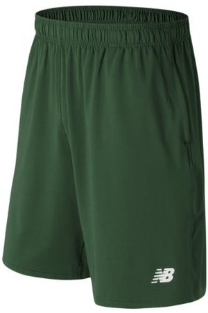 New Balance Men's Baseball Tech Short - Green (TMMS555TDG)