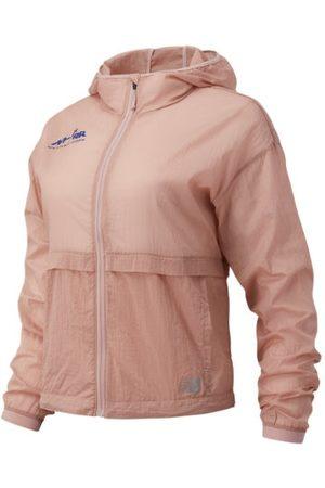 New Balance Women's Run For Life Impact Run Light Pack Jacket - Pink (WJ01237BSRN)