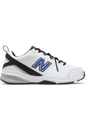 New Balance Men's 608v5 - White/Blue (MX608WR5)