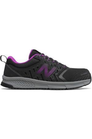 New Balance Women's 412 Alloy Toe - Black/Purple (WID412P1)