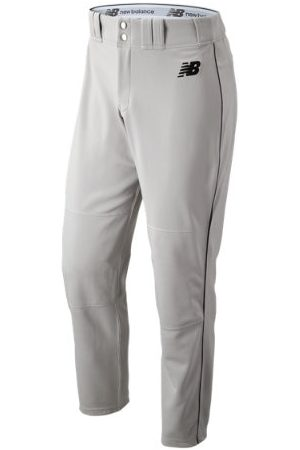 New Balance Men's Adversary 2 Baseball Piped Pant Athletic - Grey/Black (BMP216GBK)