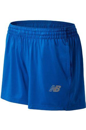New Balance Women's NB Tech Short - Blue (TMWS555TRY)