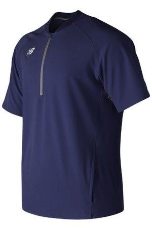 New Balance Men's Short Sleeve 3000 Batting Jacket - Navy (MT73706TNV)