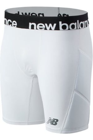 New Balance Men Shorts - Men's Slider Short - White (MS01716WT)