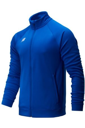 New Balance Men's Knit Training Jacket - Blue (TMMJ720TRY)