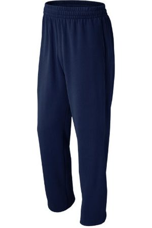 New Balance Men Pants - Men's Baseball Sweatpant - Navy (TMMP502TNV)