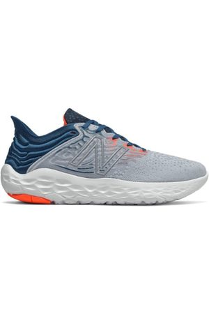 New Balance Men's Fresh Foam Beacon v3 - Grey/Blue (MBECNGB3)