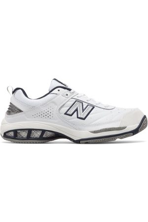New Balance Men's Court 806 - White/Navy (MC806W)