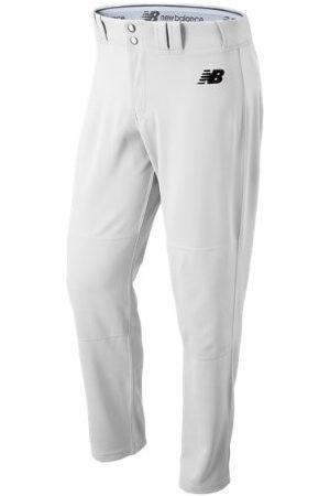 New Balance Men's Adversary 2 Baseball Solid Pant Athletic - White (BMP232WT)