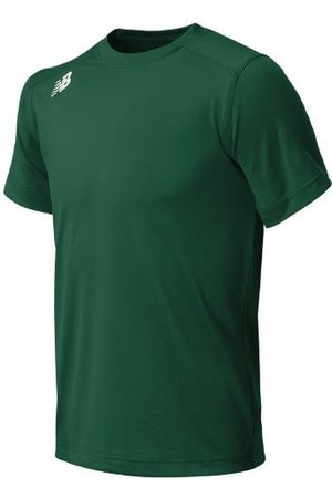 New Balance Kids' Jr NB SS Tech Tee - Green (TMYT500TDG)