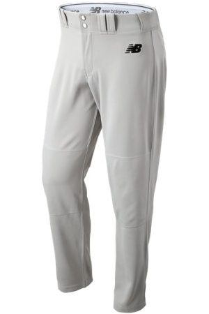 New Balance Men Pants - Men's Adversary 2 Baseball Solid Pant Athletic - Grey (BMP232GR)