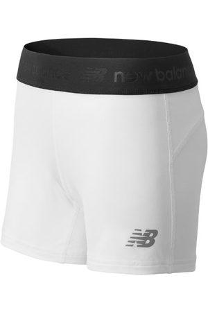 New Balance Women Shorts - Women's NB Compression Short - White (TMWS609WT)