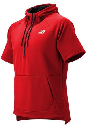 New Balance Men's BP Fleece Hoodie - Red (MT93714REP)
