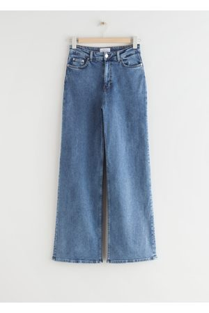 & OTHER STORIES Straight High Waist Jeans