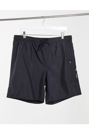 ASOS Dark Future Men Swim Shorts - Swim trunks with MA1 pocket in