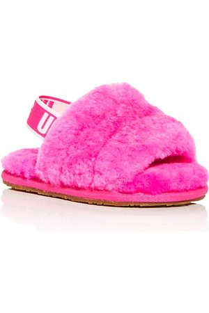 UGG Girls' Fluff Yeah Slide Shearling Slippers - Baby, Toddler