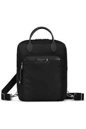 Longchamp Men Laptop Bags - Green District Backpack