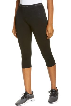 Icebreaker Women's 100 Oasis Merino Base Layer Crop Leggings