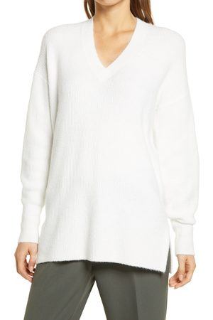 Halogen Women's Halogen Cozy V-Neck Tunic Sweater