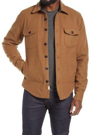 KATO Men's Heavy Melton Wool Jacket