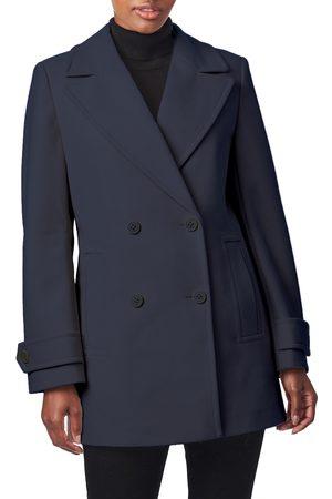 Bernardo Women's Classic Double Breasted Coat