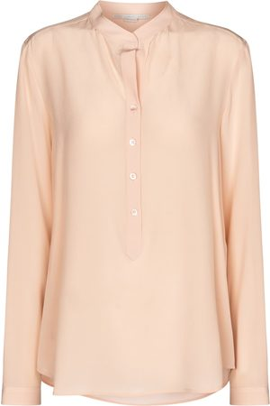Stella McCartney Eva silk crêpe de chine shirt