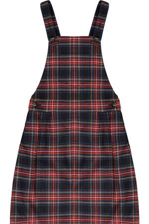 Dolce & Gabbana Checked stretch wool-blend dress